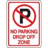 NO Parking Reflective road signs
