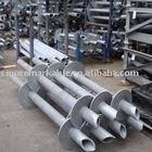 screw pile, screw piles, galvanized screw piles, helical pier, helical piers