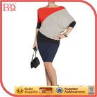BBQ Trendy Color Block Women Blouse
