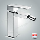 Chrome Plating 25 Diameter Brass Mini Square Bidet Faucet