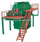 Rebonding foam foaming machine