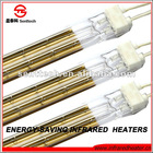 HOT!!! fast medium wave halogen lamp with golden plate