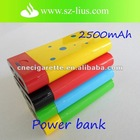 2500mAh portable power bank for e cigarette ego