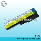 Long working time lapyop battery for Lenovo L08O6D01 L08O6D02 Ideapad Y430