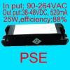 25W520mA LED driver power 38V-48V PSE authentication