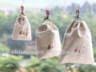 Japanese and wind draw string pocket,jute draw string bags