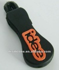 ellipse PVC/Silicone Rubber Zip Puller injection Teh.