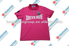 Newest Gentlemen Pink Polo T-shirt