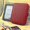 Self-Adhesion Ostrich PU case for Nook with GlowLight