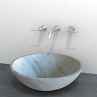 Marble Sink-Drama White