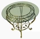 wrought iron craft table cj001