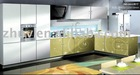 UV Painted Kitchen Cabinet Door (MDF board conforming to E1,E2 standard))