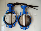 DN40-DN1200 wafer butterfly valve