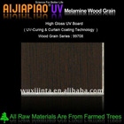 UV melamine wood grain paper laminated plywood