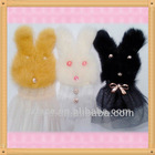New Born Very Cute Cony Hair Rabbit Applique SFC004