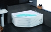 Indoor acrylic whirlpool massage bathtub
