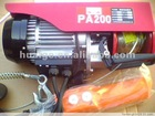 220V mini electric hoist PA 300kg with controller