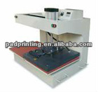 Pneumatic 2 station t shirt press machine
