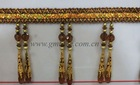 beads fringe for curtain with stock