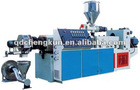 PVC hot-cut granule making machine/plastic granulator