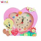 cute diy new style eva toy clock