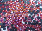 red AB siam AB Machinecut Stone,Mid-East rhinestone DMC MC