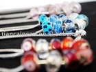 Free shipping by EMS/DHL!! 925 silver core murano glass beads fit charm bracelet