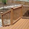 wpc handrail pillar