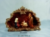 porcelain nativity candle holder