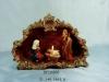 porcelain nativity candle holder