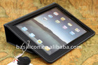 Top Quality first layer cow leather cover for apple ipad 2 , custom your own LOGO