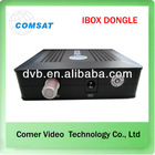 china receiver satelital dvb s2 Dongle ibox nagra3 for south America market