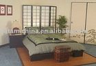 King/Queen Size Tatami Wooden Zen Platform Bed