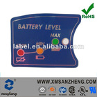 2012 customized high quality membrane panel switch