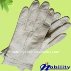 Lady's 2012 New Style Goat Skin Short Leather Warm Glove