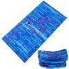 polyester elastic sacrf /elastic seamless scarf