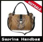 #XK-12(Brown) Fashion Ladies Designer Bags w/Croco Print