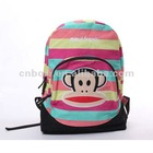 2012 fashion lady canvas bags with monkey