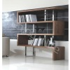 walnut color bookshelf/6570BSF