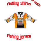 Fishing jerseys with sublimated printing
