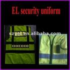 2012 good design EL flashing police vest