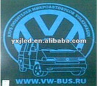 Russian equalizer el car sticker for car