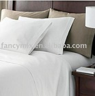pure linen bed sheet