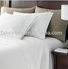 pure linen bed sheet