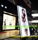 Ja1-908 Aluminum slim media advertising dot matrix led panel with high bright LED light