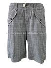 2012 New Design 100% Cotton Fabric Bermuda Shorts