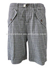2012 New Design 100% Cotton Fabric Bermuda Shorts