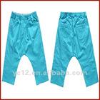 Children's Fashion Girls Cropped Harem Pants