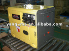 air cooled engine power generator set 200A 5KW 6KW diesel welding machine