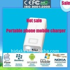 HI-808 5000ahm storeage power mobile phone with 8 ports charger
